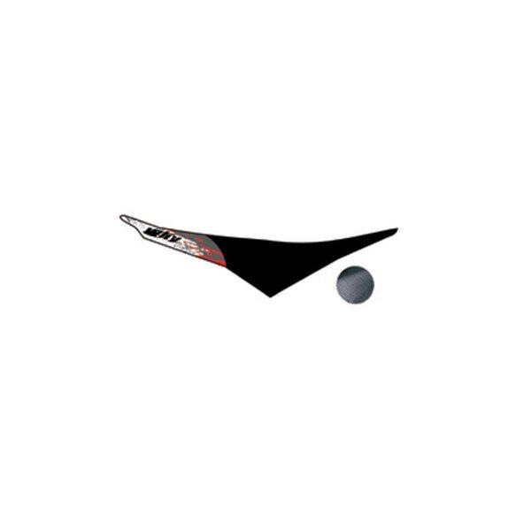 Sitzbezug HONDA Why CR 125, 250 CRF 450 Bj.02-08 schwarz-rot