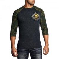 AFFLICTION Shirt 3/4-Arm LONE WOLF