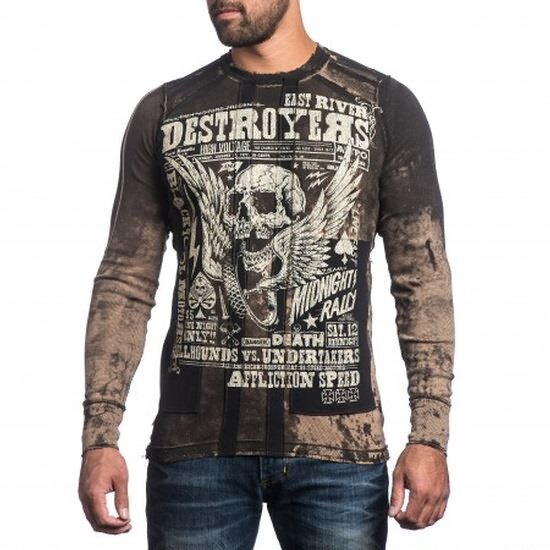 AFFLICTION Wende-Longsleeve DESTROYERS
