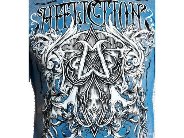 AFFLICTION T-Shirt CAST INTO