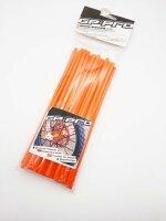 Speichen Ummantelung Speichencover orange 40 Stück...