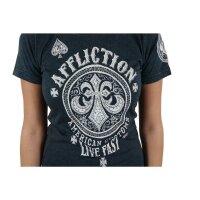 AFFLICTION Damen-Shirt AC BATTLEFIELD Grösse