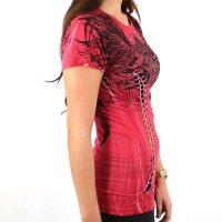 AFFLICTION Damen-Shirt ALAYA BABY TEE Grösse