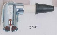 Zündkerzenstecker Metallschirm 90 Grad