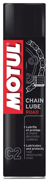 MOTUL C2 chain lube road kettenspray 400ml farblos