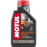 MOTUL scooter power 1liter 2-takt
