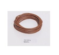 Stromkabel 5 Meter braun FLRY Leitung 1,5qmm