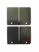 Carbon Membranzungen für KAWASAKI KX 250 KX250 Bj....