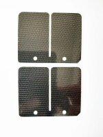 Carbon Membranzungen für YAMAHA YZ 125 YZ125 Bj. 94-00