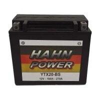 Batterie für BUELL 1200ccm RSS1200 Baujahr 1991-1993...
