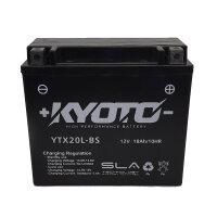 Batterie für KAWASAKI 1000ccm KZ1000-E ST, Shaft...