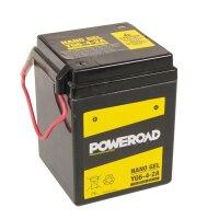 Batterie für SUZUKI 100ccm A100 Go-fer Baujahr 1969...
