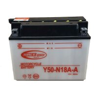 Batterie für SUZUKI 250ccm LT250EF QuadRunner...