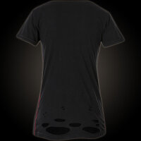 AFFLICTION Damen T-Shirt Rock And Soul in Schwarz S-M