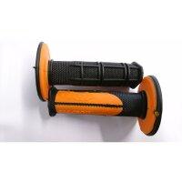 Griffgummi Cross Dual 798 schwarz-orange 22/25mm...