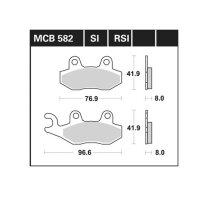 BREMSBELAG für HUSQVARNA 250 ccm CR 250, Bj.92-94,...