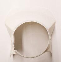 Lampenmaske für 500 ccm HONDA XL 500 R weiss CEMOTO