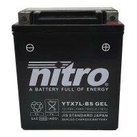 Batterie YTX7L-BS GEL HAHN POWER