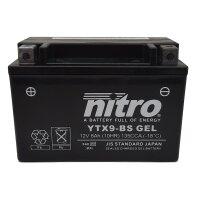 Batterie YTX9-BS GEL NITRO