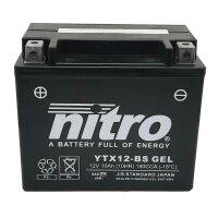 Batterie YTX12-BS NITRO
