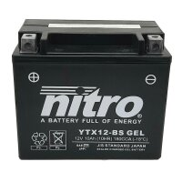 Batterie YTX12 SLA GEL NITRO