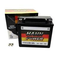 Batterie YTX12-BS GEL GTX12-BS FTX12-BS Motorrad Roller Quad