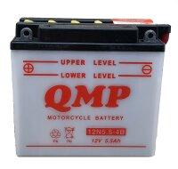 Batterie für Malanca 125ccm Mark ab Baujahr 1985...