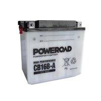 Batterie für HONDA 1000ccm VF 1000 R ab Baujahr 1986...