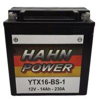Batterie für SUZUKI 500ccm LT-F 500 Baujahr...