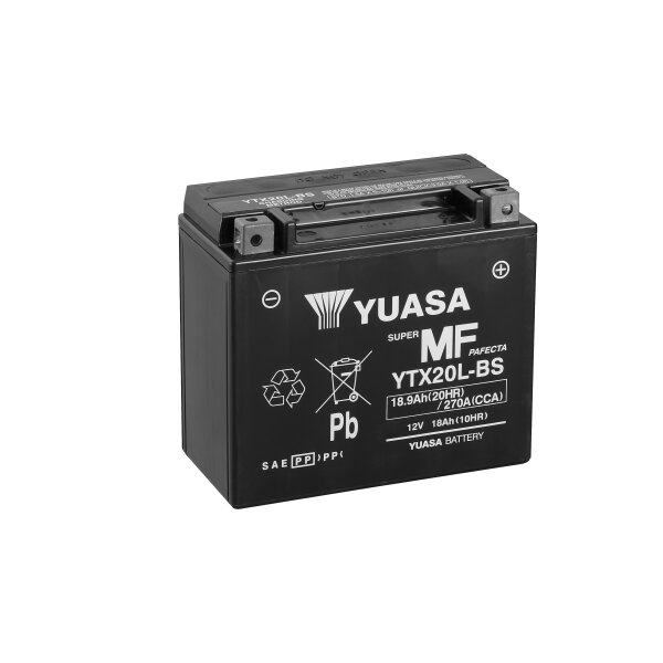 YUASA-Batterie HARLEY-DAVIDSON 1449ccm Heritage Softail Classic Injection Baujahr 2000-2002 (YTX20L-BS)