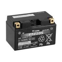 YUASA-Batterie Wet Charged für YAMAHA YFM 350 Big...