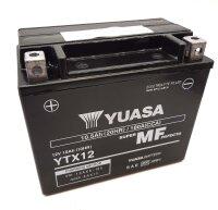 YUASA Batterie befüllt für APRILIA SR Motard...