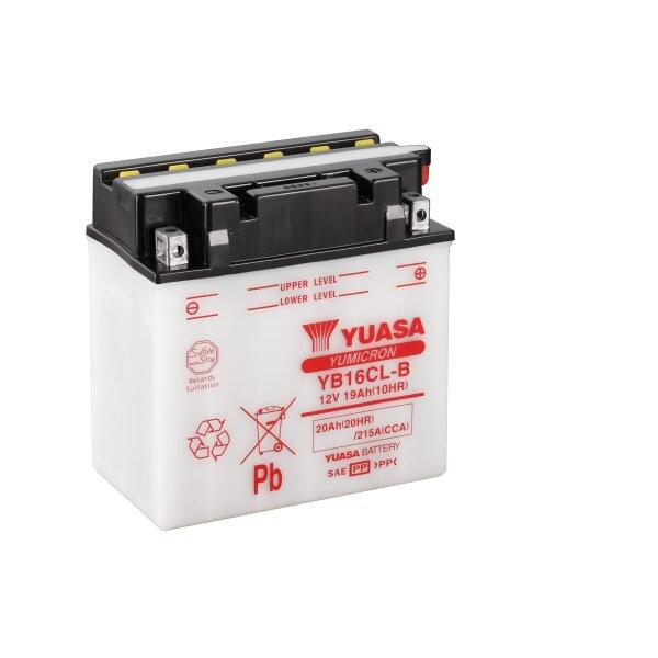 YUASA-Batterie JOHN DEERE 450ccm All Model Baujahr Alle (YB16CL-B)