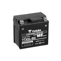 YUASA-Batterie befüllt für YAMAHA Giggle 50ccm...