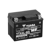 YUASA-Batterie befüllt für HONDA CG 125 125ccm...