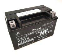 YUASA-Batterie befüllt für SYM Mio 50 50ccm...
