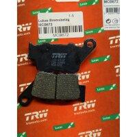 BREMSBELAG für YAMAHA 660 ccm XT 660 R, Bj.04-,...