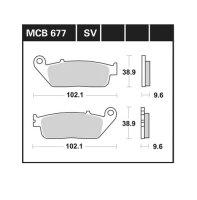 BREMSBELAG für HONDA 750 ccm NC 750 S, Bj.14-, VORNE...