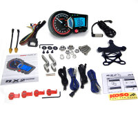 KOSO RX2+ GP Style Tacho Tachometer Drehzahlmesser RPM...