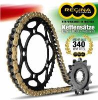 REGINA Kettensatz KettenKettenkit Kawa KLE500 97- (A6-A10)