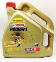 Motoröl Motor Öl Castrol POWER1 4T 20W-50...