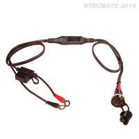Bordsteckdose OptiMATE CABLE O-8 Standard MOTORRAD-Buchse...