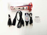 OptiMATE USB O-100, 1000mA USB-Ladeadapter SAE  mit...