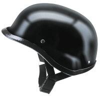 REDBIKE Helm RB-200 Serie Farbe matt schwarz...