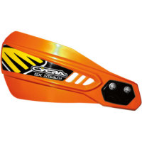 CYCRA HANDPROTEKTOR Stealth Alloy orange komplett