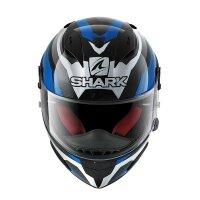 SHARK Integralhelm RACE-R PRO ASPY schwarz-weiss-blau Gr....