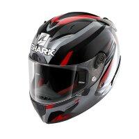 SHARK Integralhelm RACE-R PRO ASPY schwarz-rot-grau Gr....
