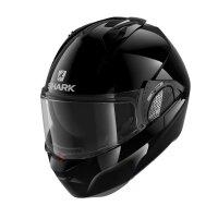 SHARK Klapphelm EVO GT schwarz glänzend