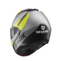 SHARK Klapphelm EVO GT ENCKE silber-schwarz-gelb matt