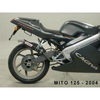 Auspuff für 125 ccm CAGIVA Mito 125 Bj. 94-06...